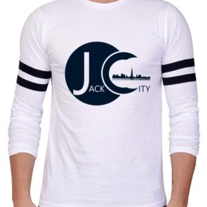 white jc long slv